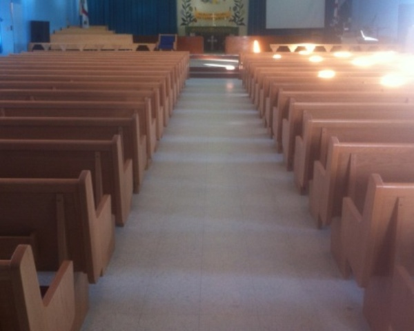 St Thomas Anglican Church - Sanctuary Pews