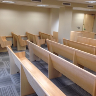 Kingston Provincial Offences Interior Retrofit - Courtroom Seating